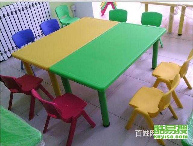 學生課桌椅輔導班桌椅可升降幼兒桌 學校課桌椅子產品圖